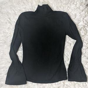 Shein high neck blouse